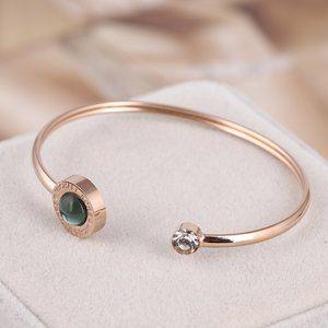 Michael Kors Green Opening Mild Steel Bracelet